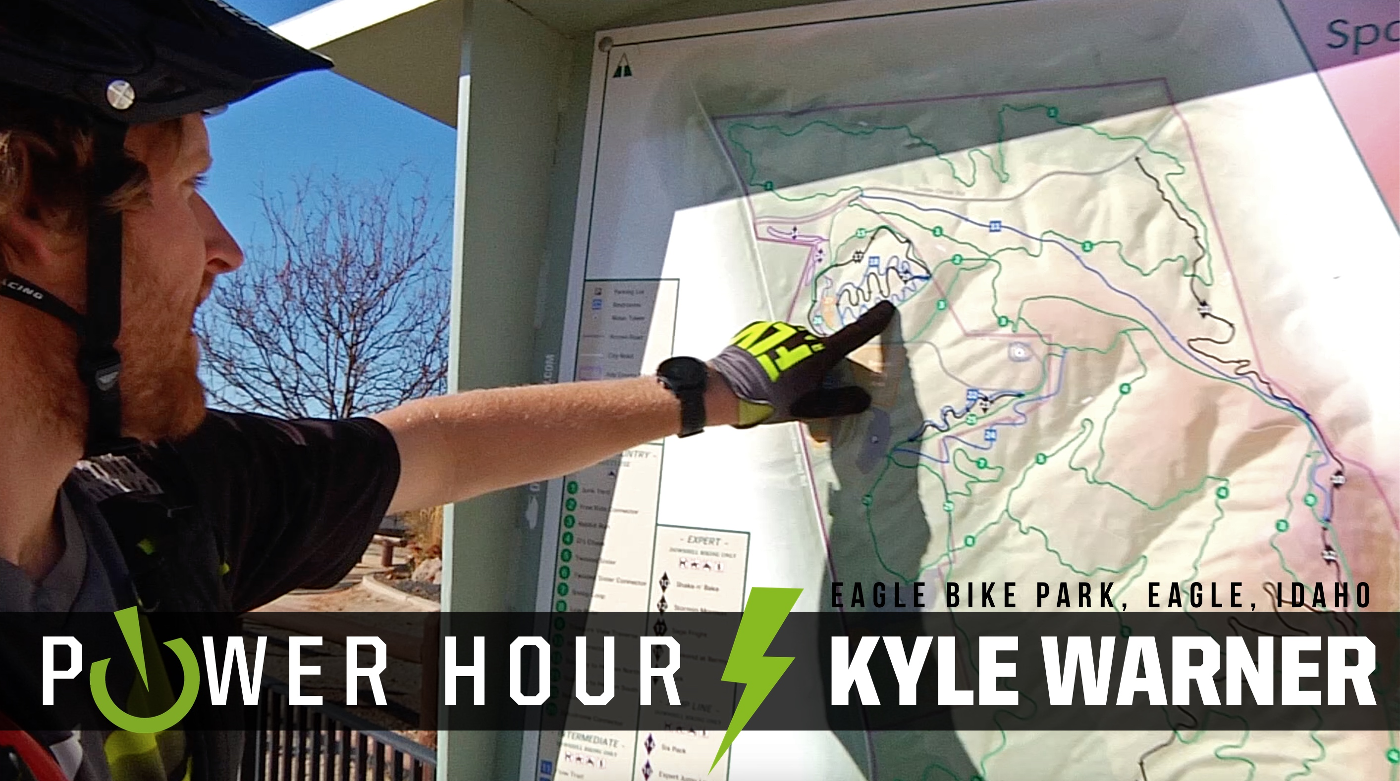 The Entire Bike Park in an Hour? Kyle Warner, Power Hour - Eagle, Idaho