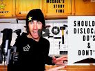 Cam McCaul, Hilarious AND Informative - Shoulder Dislocation Do's and Don'ts