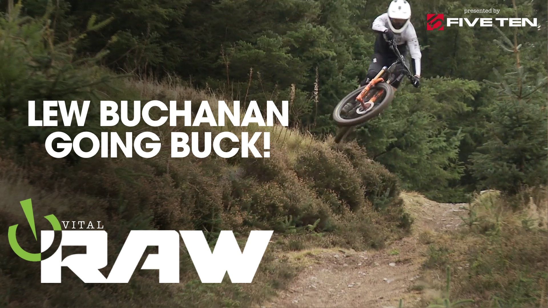 Vital RAW - Lew Buchanan is Not Nice to His Bike
