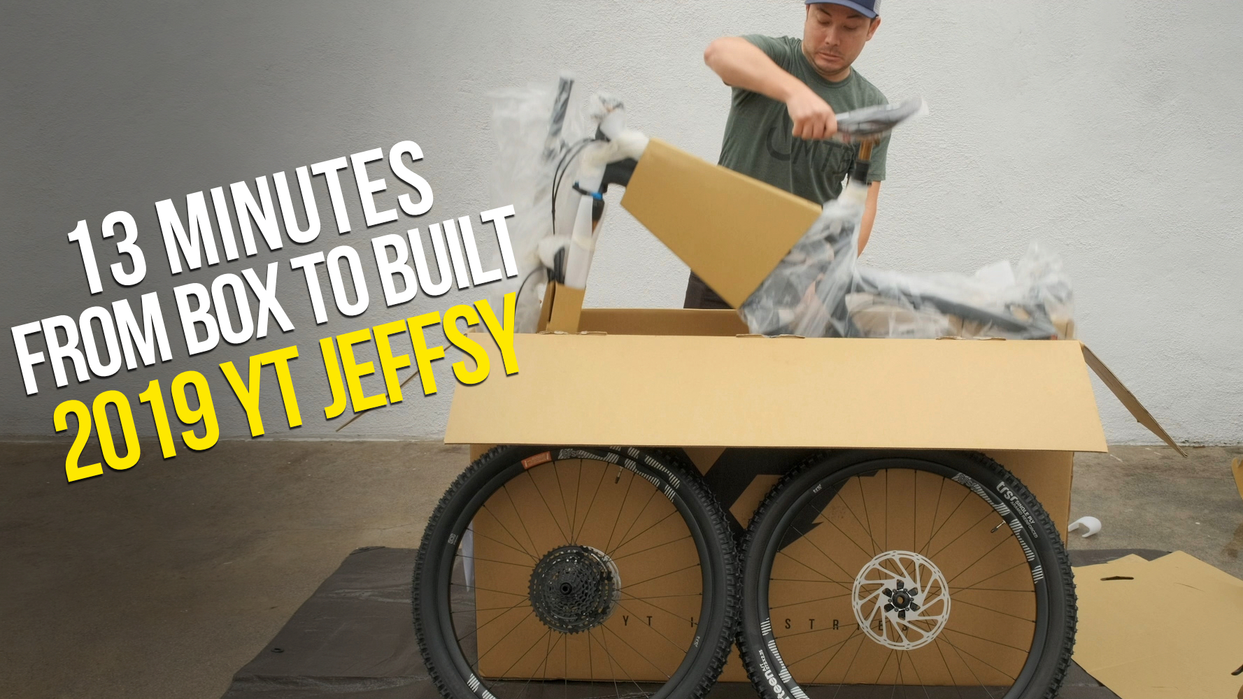 13 Minutes from Box to Built - 2019 YT JEFFSY UNBOXING