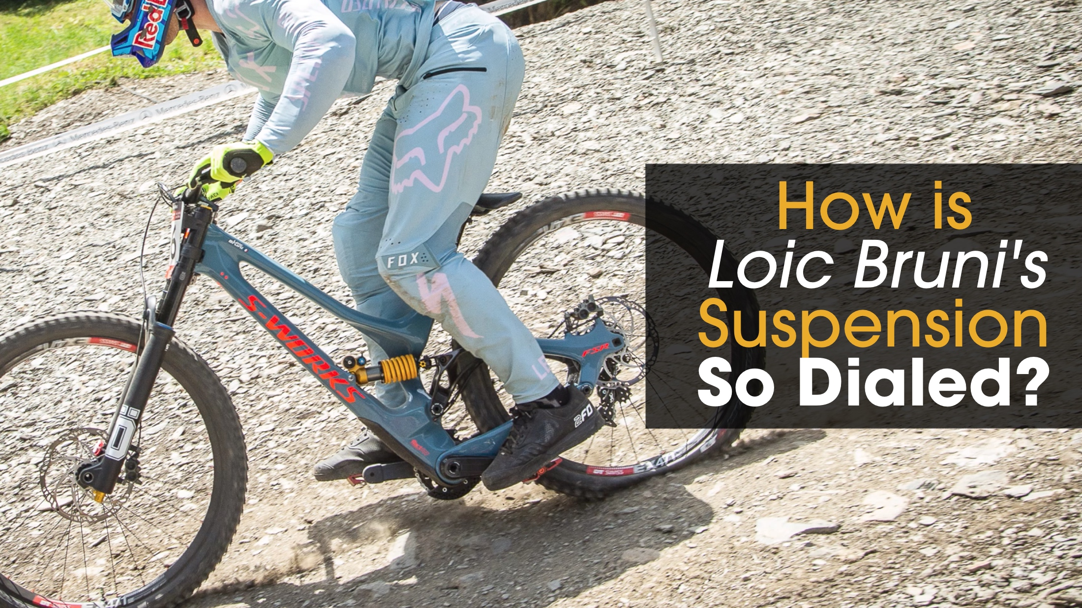 Why Does Loic Bruni's Suspension Work So Well? - Mountain Biking