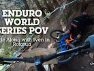 ENDURO WORLD SERIES POV - ROTORUA Ride-Along with Sven