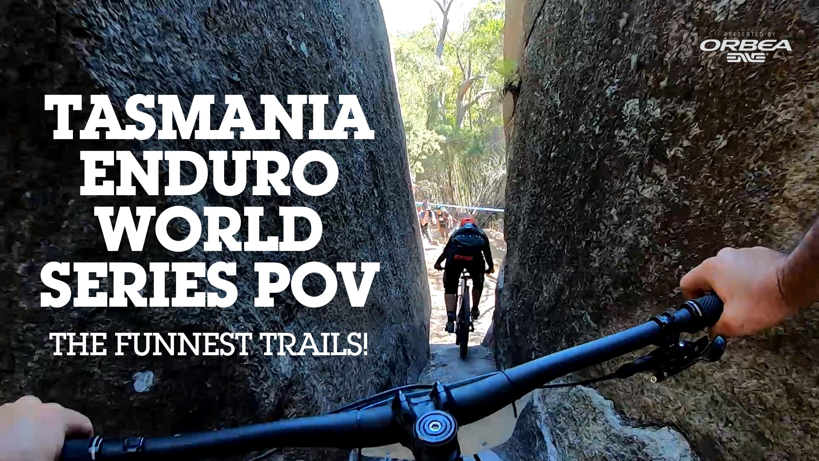 SVEN VS EWS TASMANIA - The Funnest Trails!
