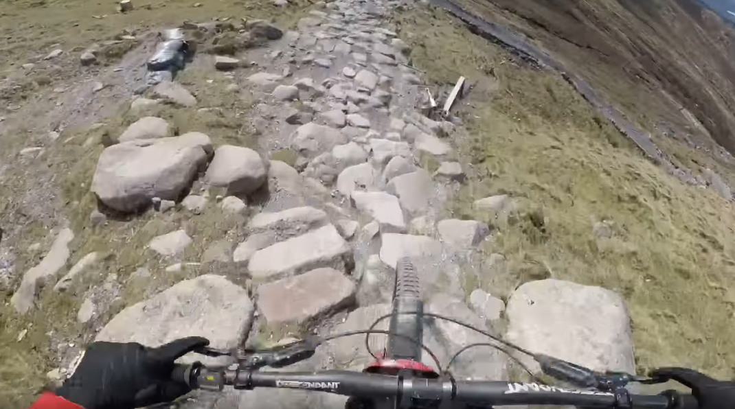 BRUTAL - 2019 Fort William World Cup DH Track POV with Reece Wilson