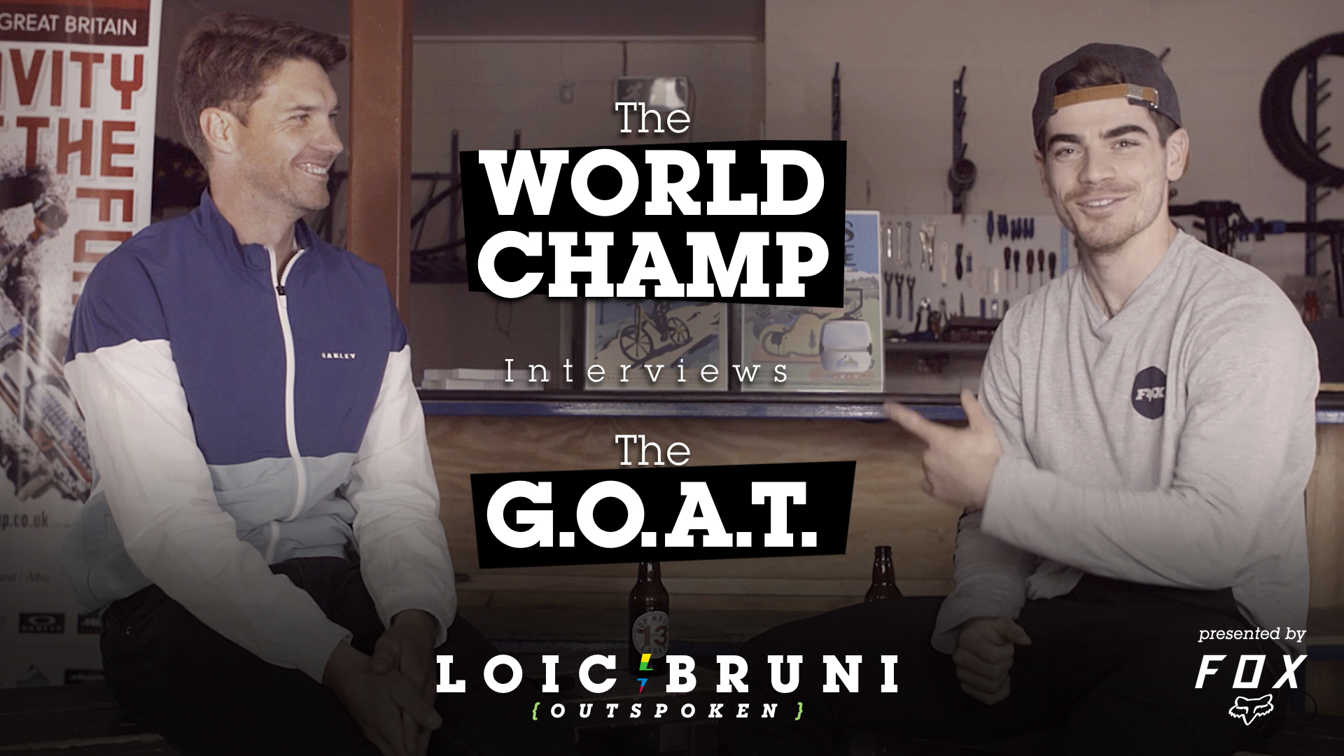 The WORLD CHAMP Interviews the G.O.A.T. - Loic Bruni and Greg Minnaar Get Personal