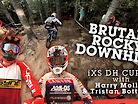BRUTAL, ROCKY DH COURSE PREVIEW! - iXS Downhill Cup, Abetone, Italy