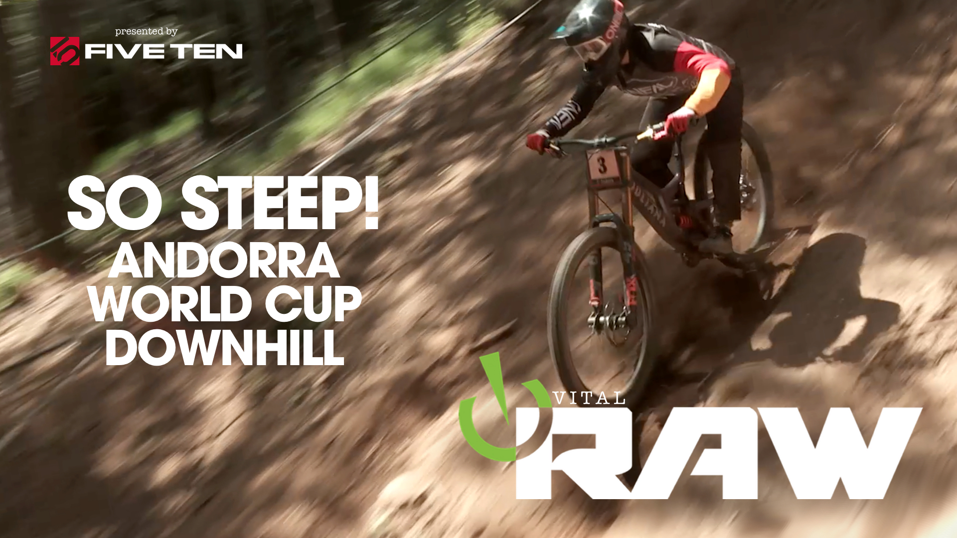 Vital RAW Andorra World Cup Downhill Day 2