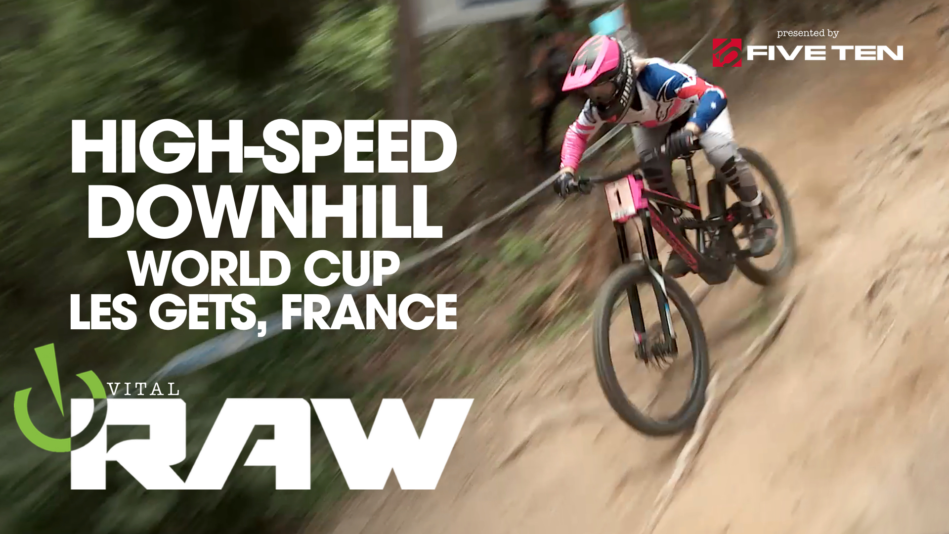 HIGH-SPEED DOWNHILL! Vital RAW, 2019 Les Gets World Cup Day 2