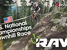 2019 U.S. National Champs Downhill Race Action - Vital RAW