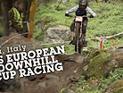 2019 iXS European Downhill Cup Pila, Italy, Mountain Bike Race Action