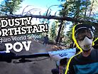 LOOK AT THE DUST! Enduro World Series Northstar Stage POV 2019