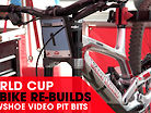 VIDEO PIT BITS - Snowshoe World Cup Downhill