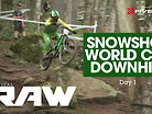BIG ROCKS & BACKFLIPS! Vital RAW, Snowshoe World Cup Downhill