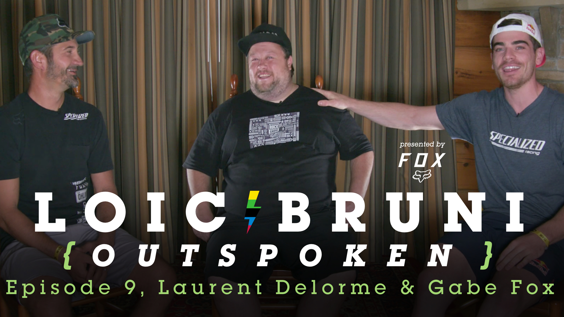 LOIC BRUNI'S OUTSPOKEN - Episode 9 - MTB Race Team Managers, Laurent Delorme and Gabe Fox