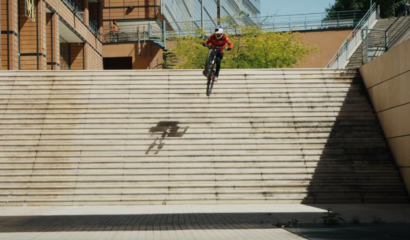 Skateboarding Jaws Would Be Proud - Fabio Wibmer Hucks the Lyon 25 Stair to Flat