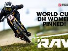WORLD CUP DOWNHILL WOMEN - PINNED! Vital RAW
