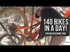 Sending Out 140 Bikes in a Day - Specialized Demo Tour