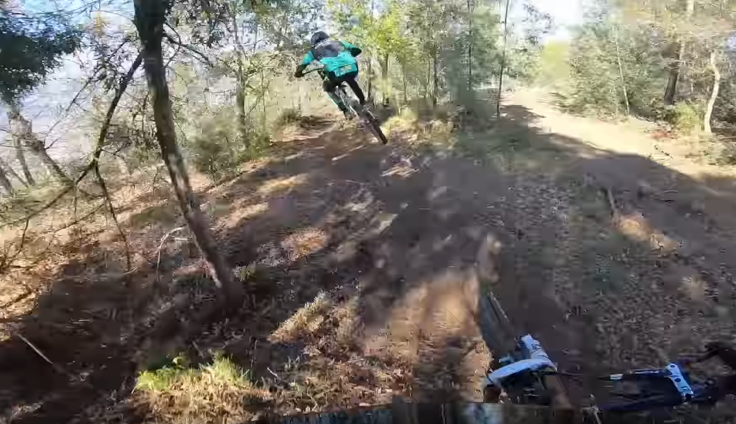 Lousa World Cup DH Course Preview with FrixFrix and Estaque