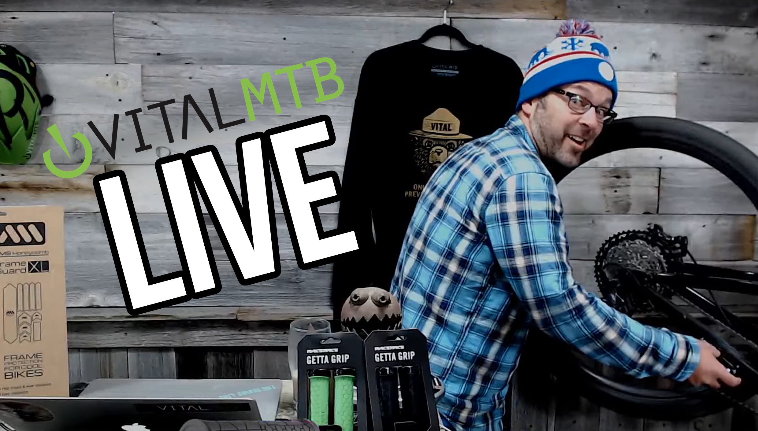 VITAL MTB LIVE - April 3 - The Best Manual and Wheelie Training Machines, Bikes, Tech, Gear