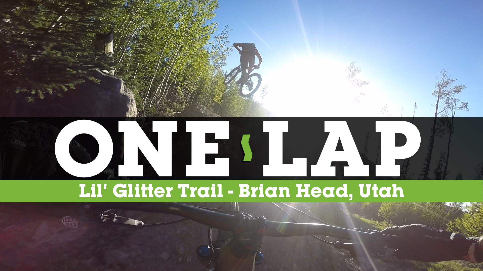 Fast, Flowy, Rocky MTB Trail POV - Brian Head Bike Park's Lil' Glitter