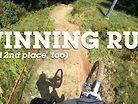 WINNING RUN and 2nd Place Run - Downhill Southeast Sugar Mountain