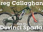 Pro Bike Check - Greg Callaghan's Devinci Spartan