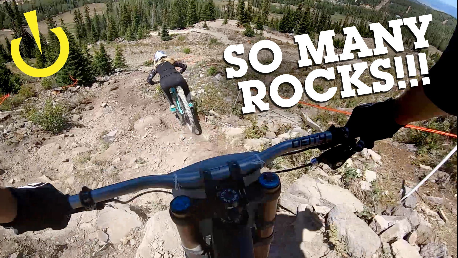 UTAH State DH Finals Course POV with Kera Linn and Steve Wentz - 4K 60p