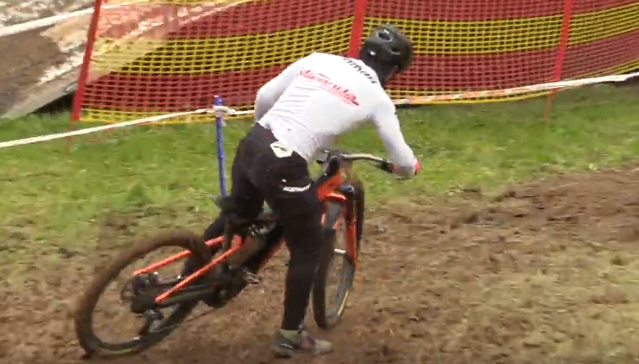 MASSIVE DRIFTS AND CARNAGE - E-MTB WORLD CHAMPS