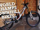 World Champs Downhill Bikes - Leogang 2020