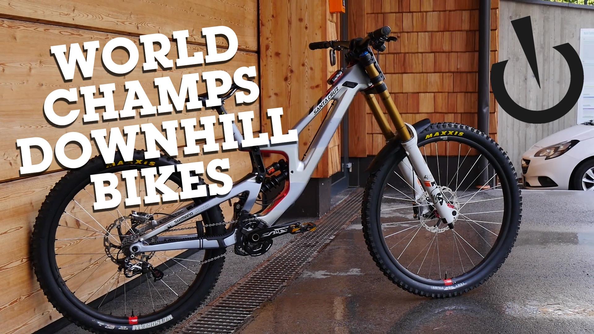 World Champs Downhill Bikes - Leogang 2020