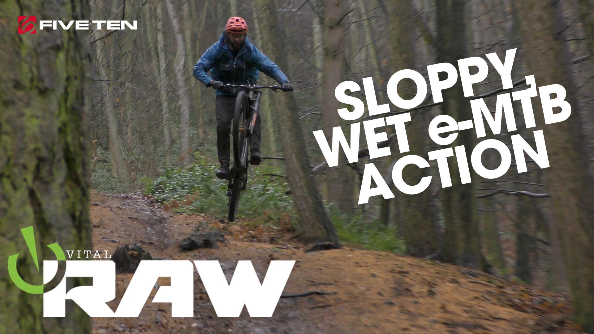 E-Bikes in the Rain - Vital RAW with Joe Smith and Gareth Brewin