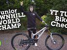 Oisin O'Callaghan's YT TUES - Junior DH World Champ Bike Check