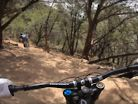 A DH Bike and Spider Mountain Texas - Sticky Icky