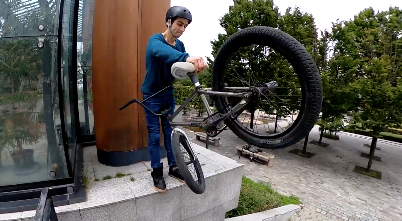 """You Be the Judge - Bikespin Spinning Seatpost """"For New Tricks"""""""