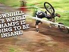 World Champs DOWNHILL Track Walk - Val di Sole Present and Past