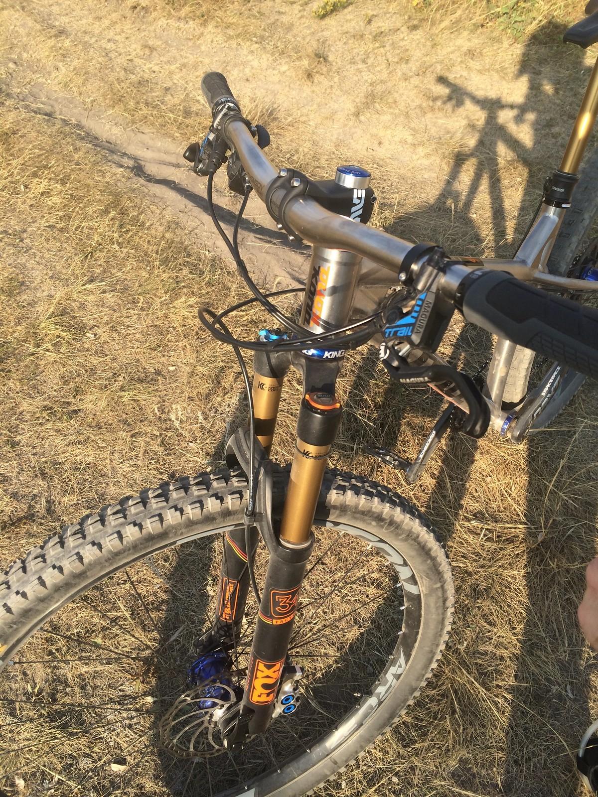 Honzo Titanium Lance H S Bike Check Vital Mtb