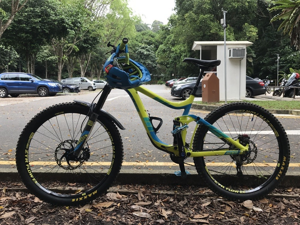 2016 Giant Reign 2 LRD