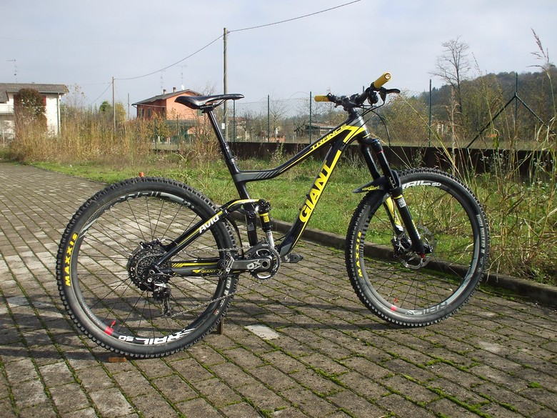 Giant Trance Advanced 650b - 2014 - ENDURO CUSTOM