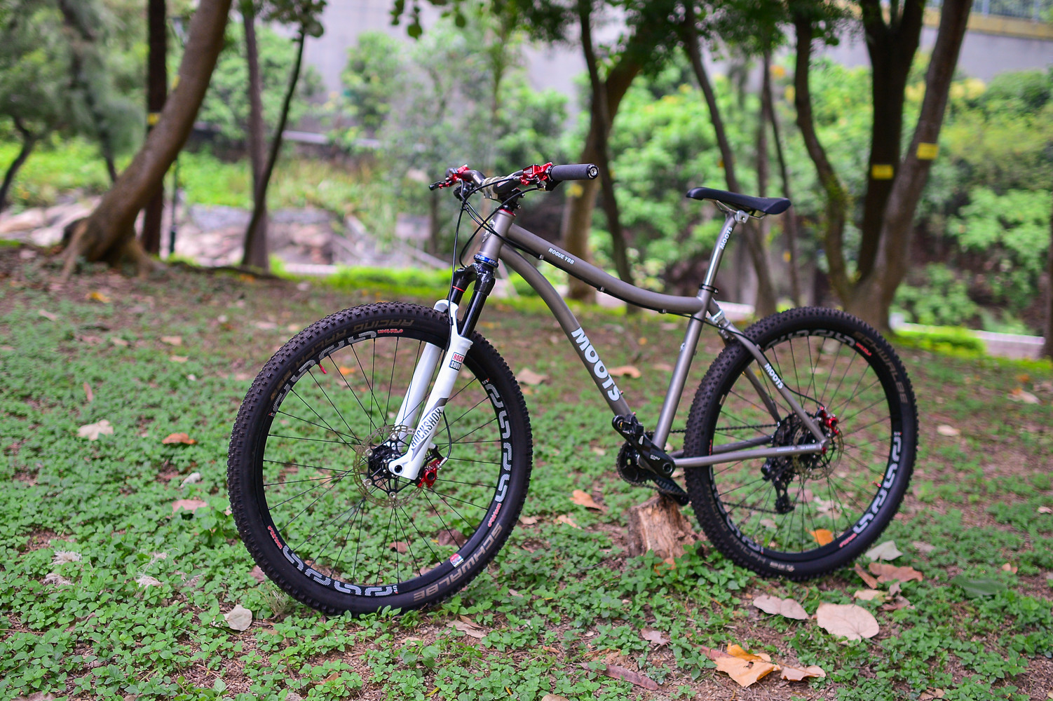 Moots Rogue YBB 650B - hkbugs\'s Bike Check - Vital MTB