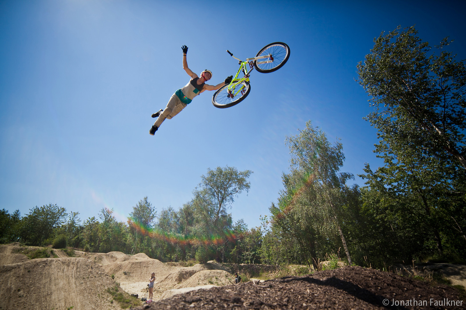 Super seat - Jonny Faulkner - Mountain Biking Pictures - Vital MTB