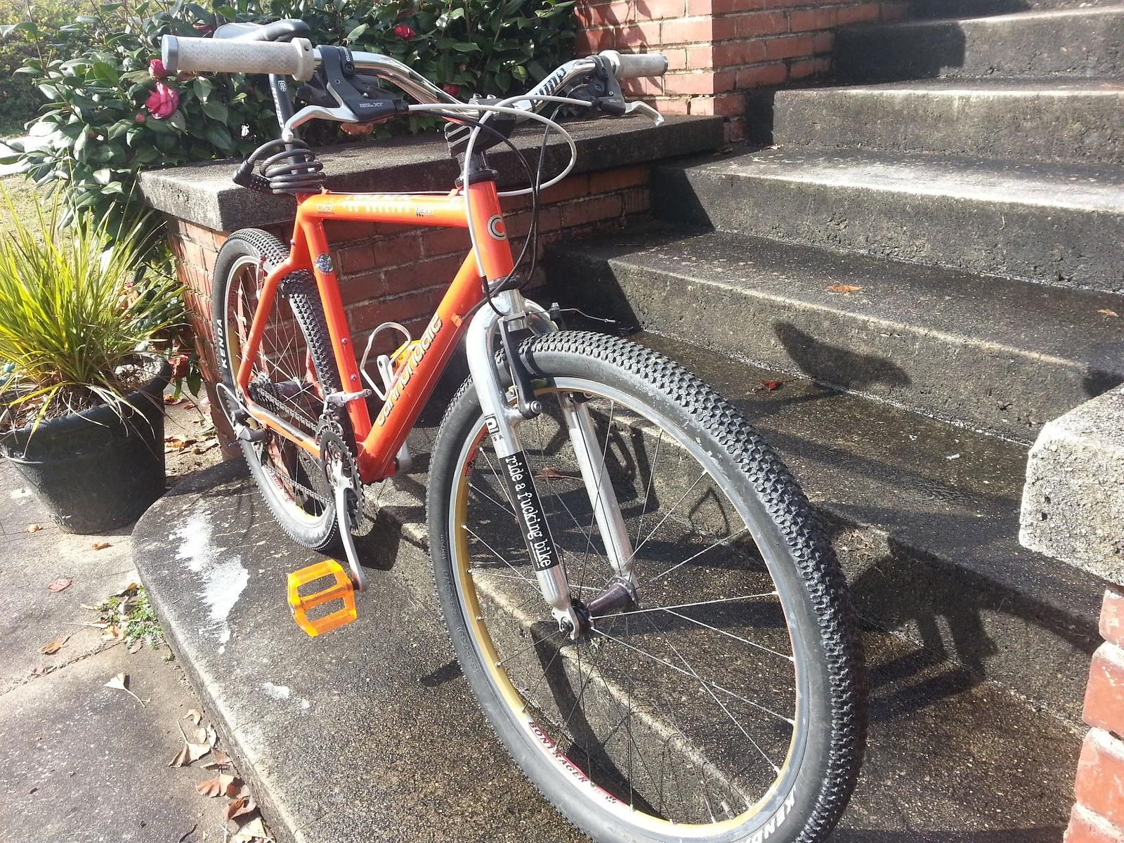 Cannondale M900 Commuter bike
