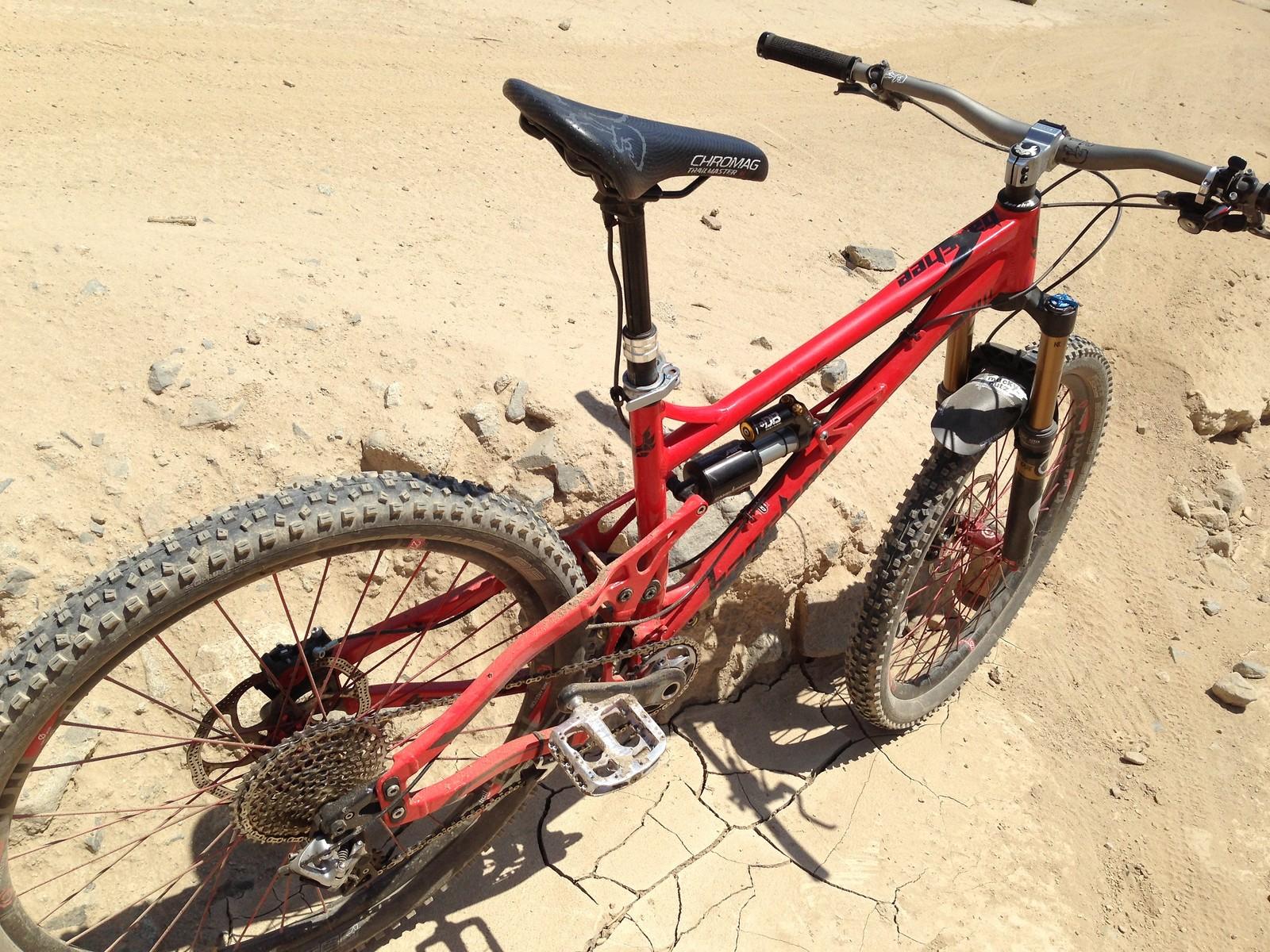 Calulo URQU's Banshee Bikes
