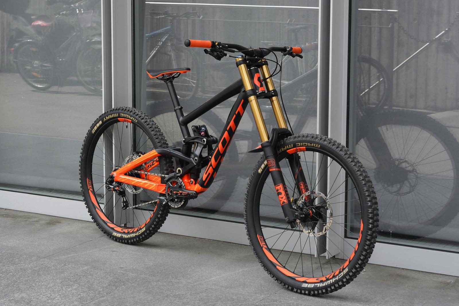6dd62094cc7 Related: Bike of the Day FOX Schwalbe Scott Shimano SRAM Syncros
