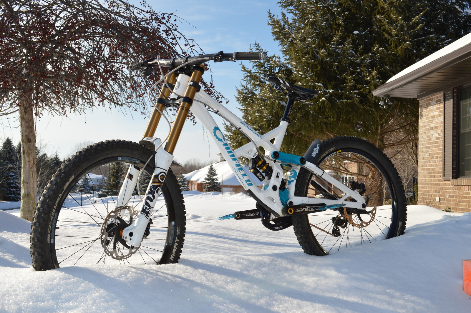 2013 Canfield Brothers Jedi white/turquoise