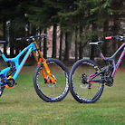 "Santa Cruz V10 carbon ""The Single Twins"""