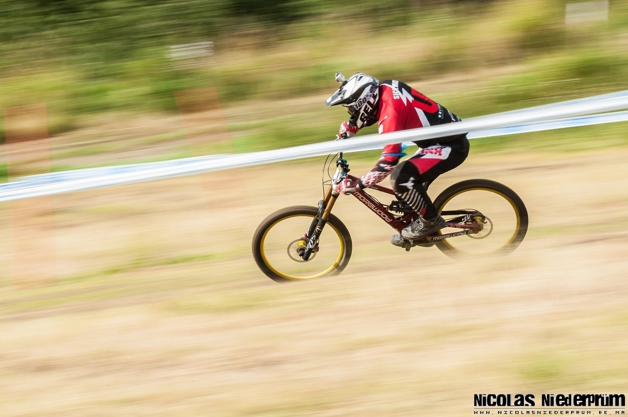 Sick Mick Hannah @Hafjell (Norway) Downhill World Cup 2012 - born_to_ride - Mountain Biking Pictures - Vital MTB