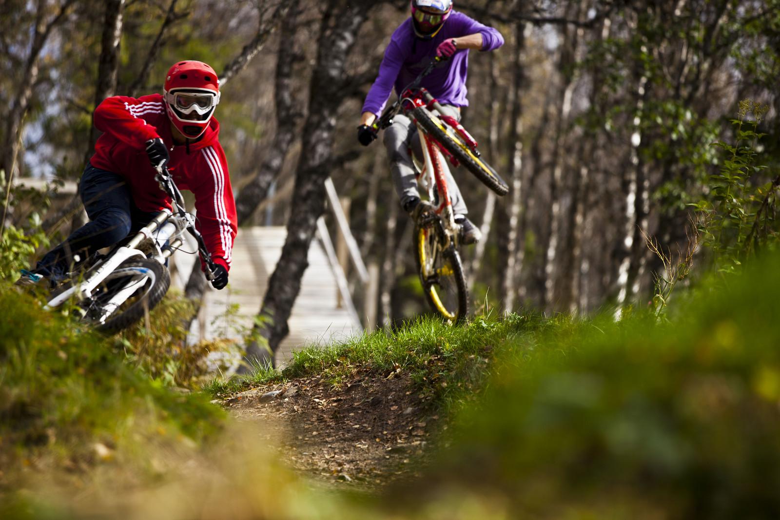 Linus Sjöholm and Martin Söderström - linussjoholm - Mountain Biking Pictures - Vital MTB