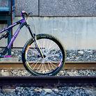 2016 Santa Cruz Bronson W/Custom Purple Build