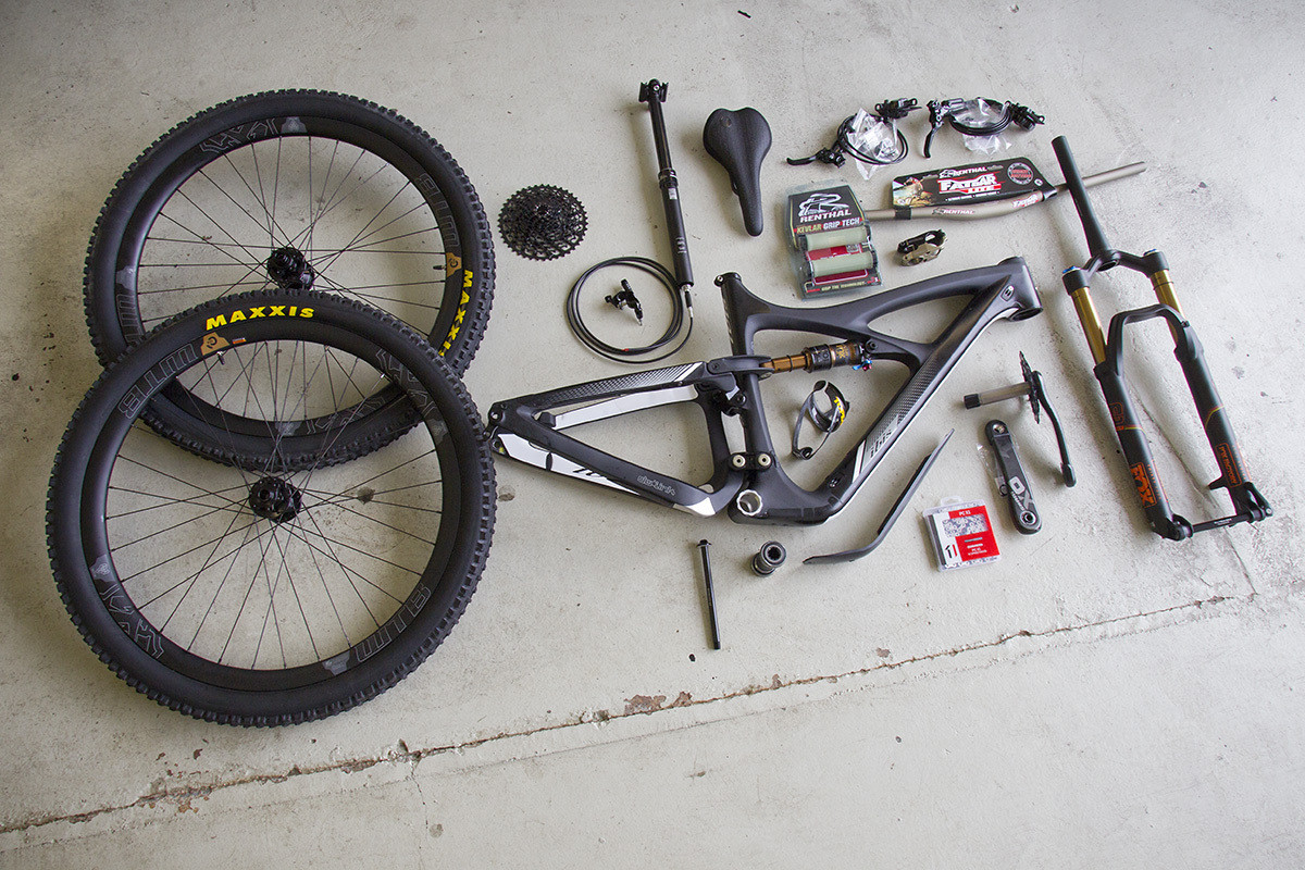 Ibis Mojo 3 - exploded view - DutchmanPhotos - Mountain Biking Pictures - Vital MTB