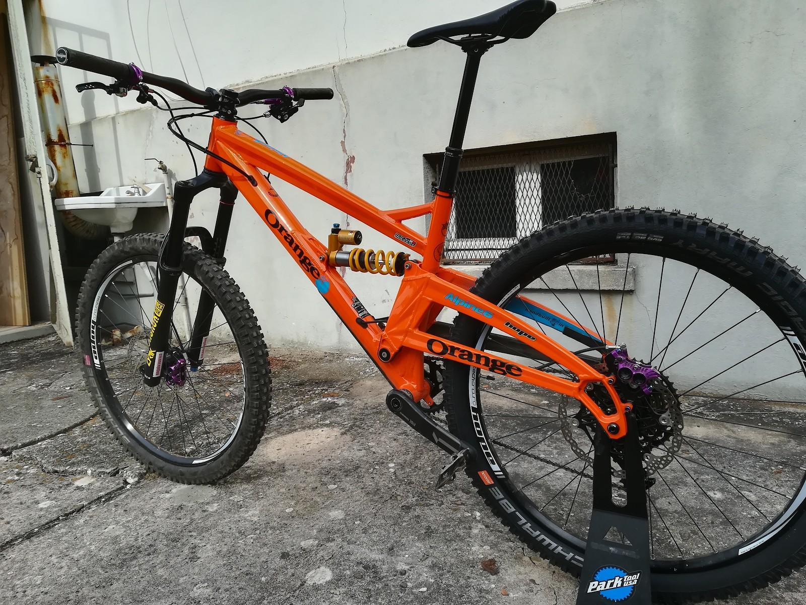 Orange Alpine 6 2019